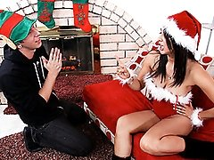 New Santa Stripper Mom Gets Freshly Frosted