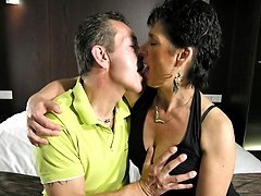 This mature couple love it hard and long